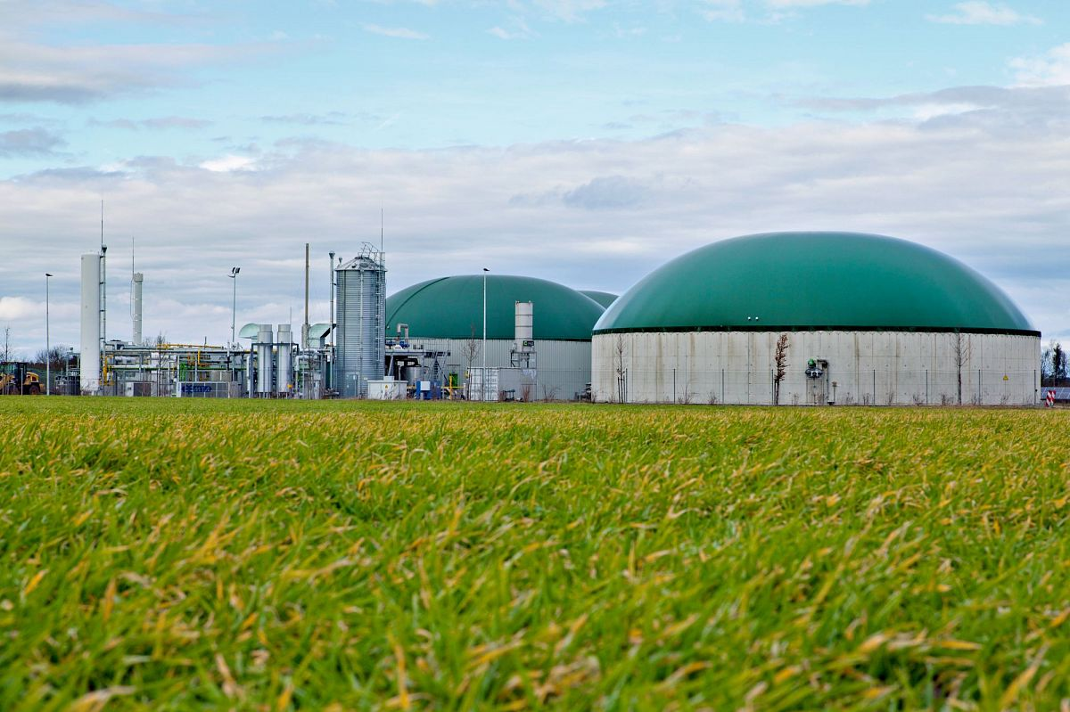 Биогаз на СПГ