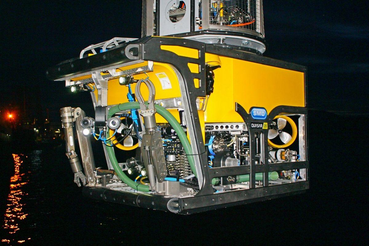 Телеуправляемые аппараты для подводно-технических работ