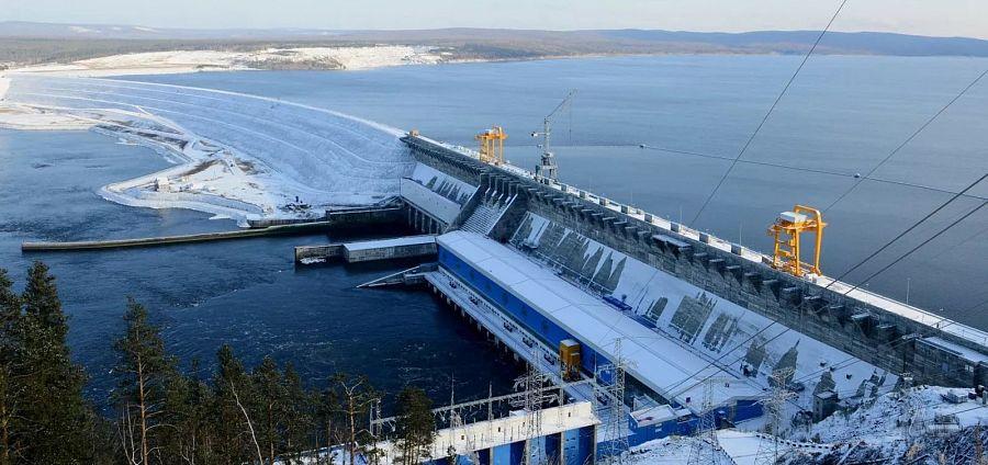 Богучанская ГЭС установила рекорд зимней выработки
