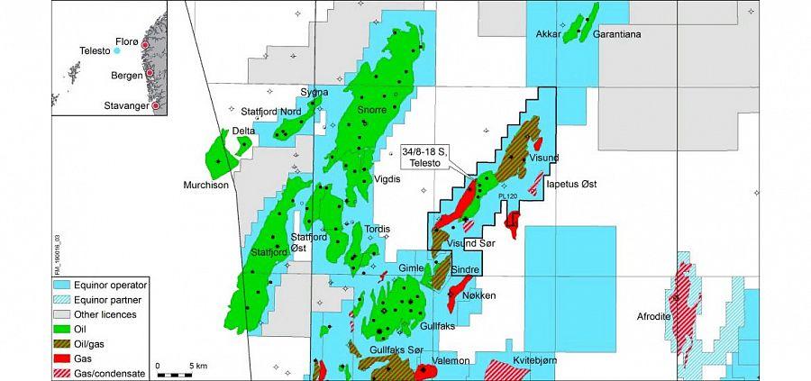 Equinor обнаружила новые запасы нефти вблизи месторождения Visund в Северном море
