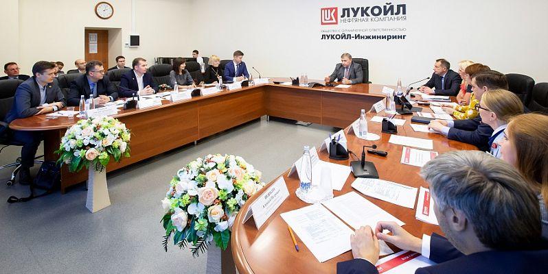 Представители Татнефти посетили ЛУКОЙЛ-Инжиниринг