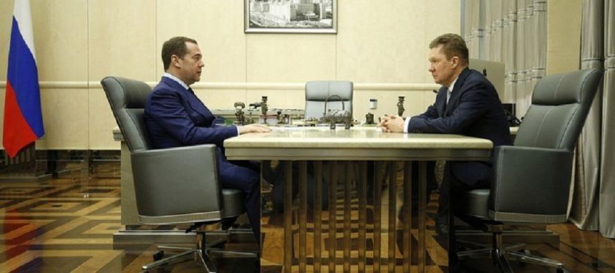 А. Миллер - Д. Медведеву. Доля отечественного оборудования в закупках Газпрома составляет 99,7%  - Новости нефти, новости газа, новости ТЭК