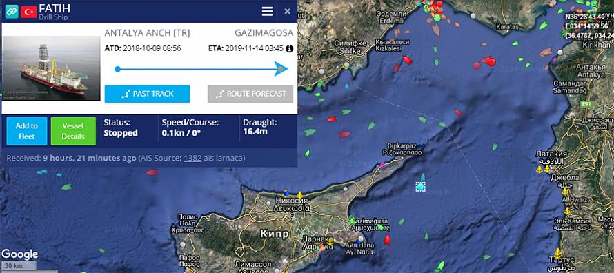 Санкции ЕС не влияют. Турция начала новые буровые работы на шельфе о. Кипр - Новости нефти, новости газа, новости ТЭК
