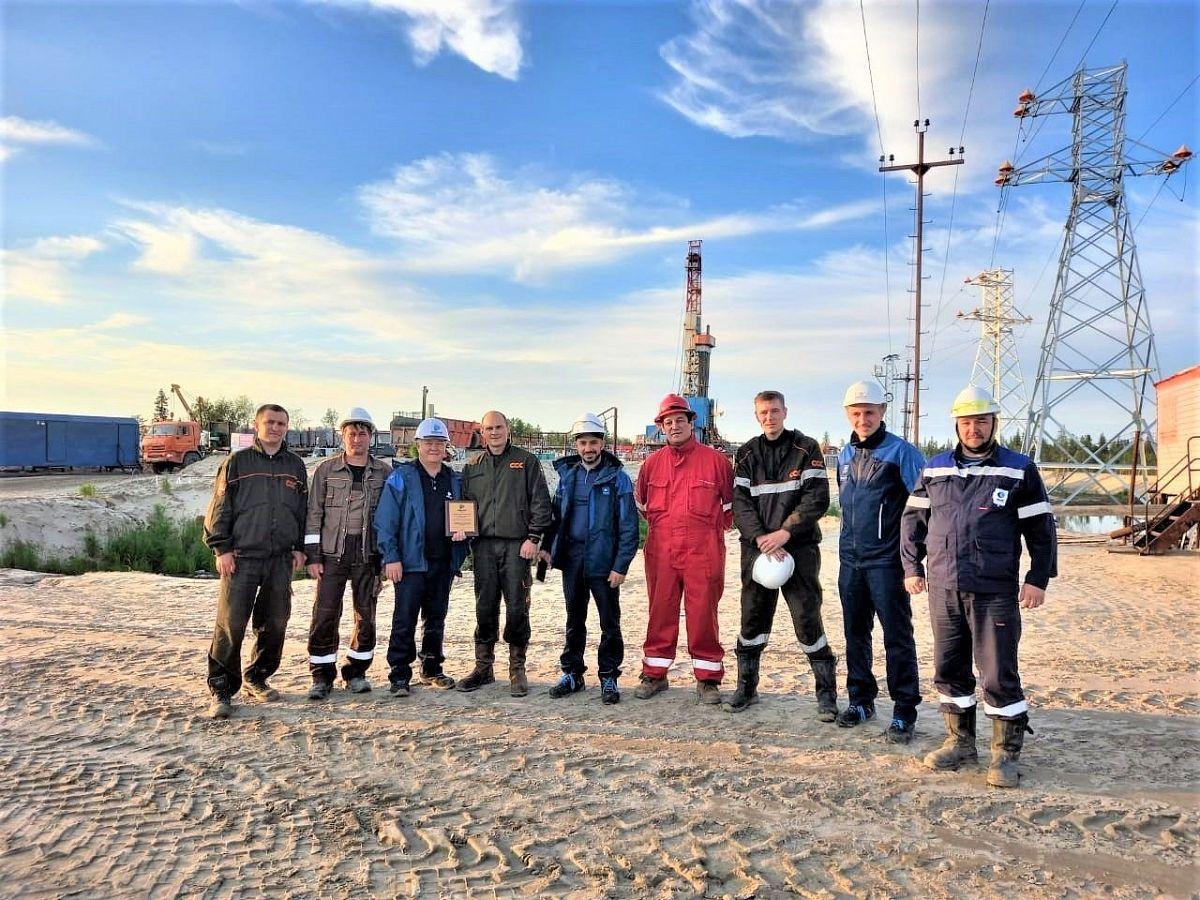 Стратегический партнер Ямальского филиала ССК выразил благодарность буровикам за высокие достижения в работе