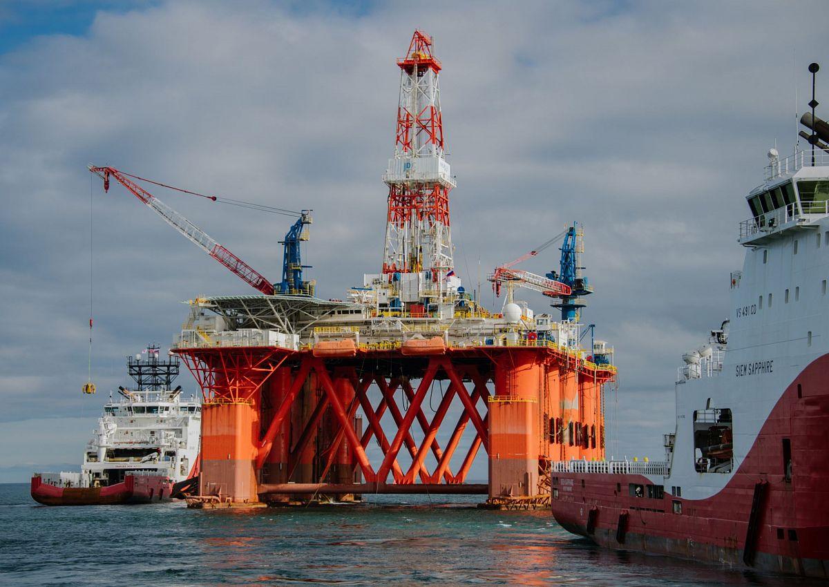 Морские нефтяные платформы: статус и юрисдикция