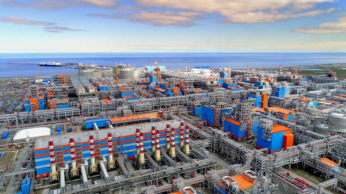 Российские производства по сжижению природного газа