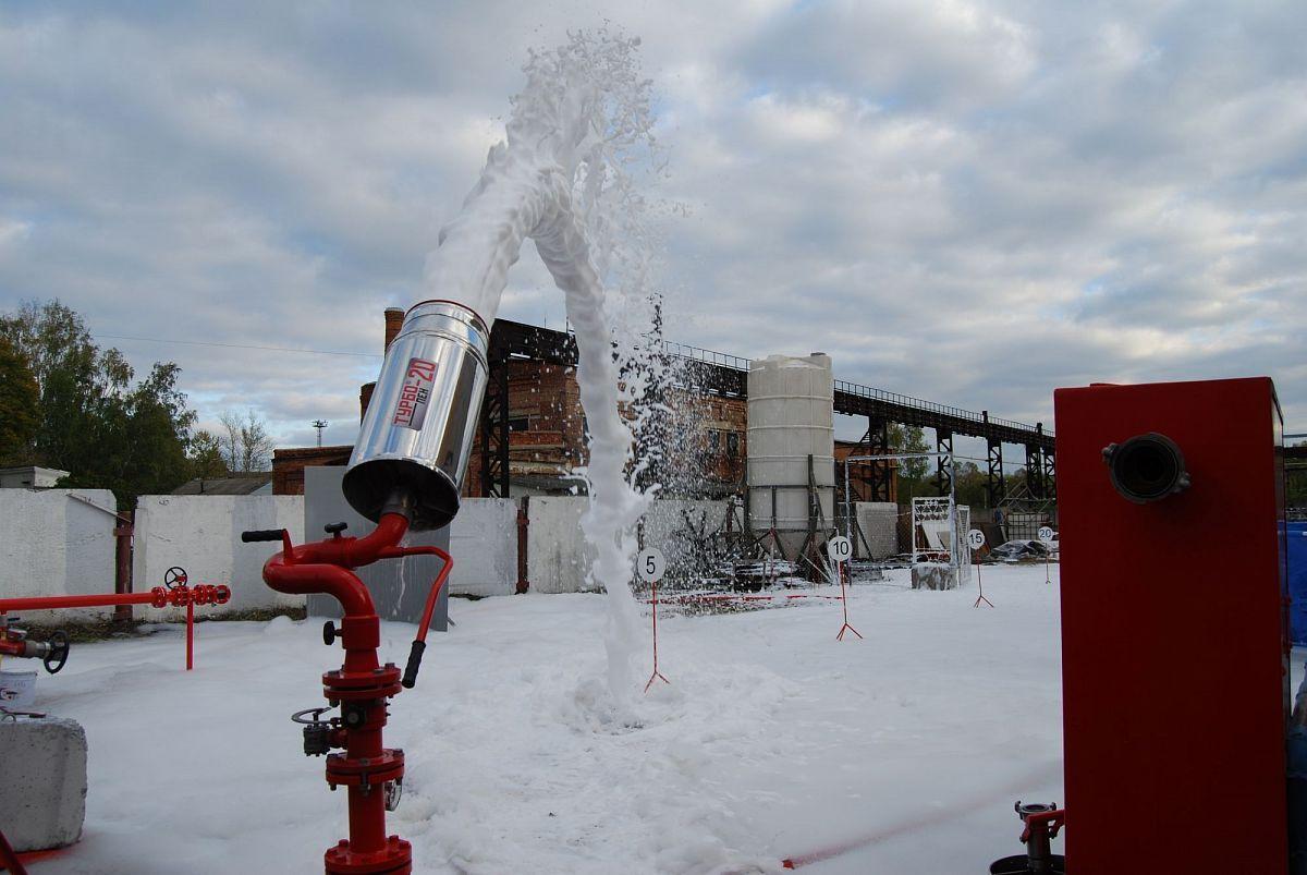 Научный подход к пожаротушению