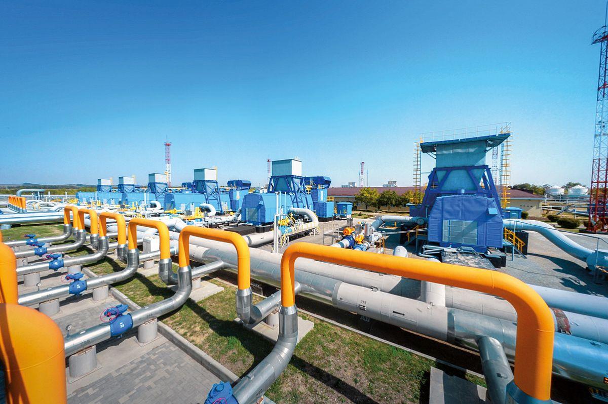Компоновка установок газоохлаждения на линейных и дожимных компрессорных станциях