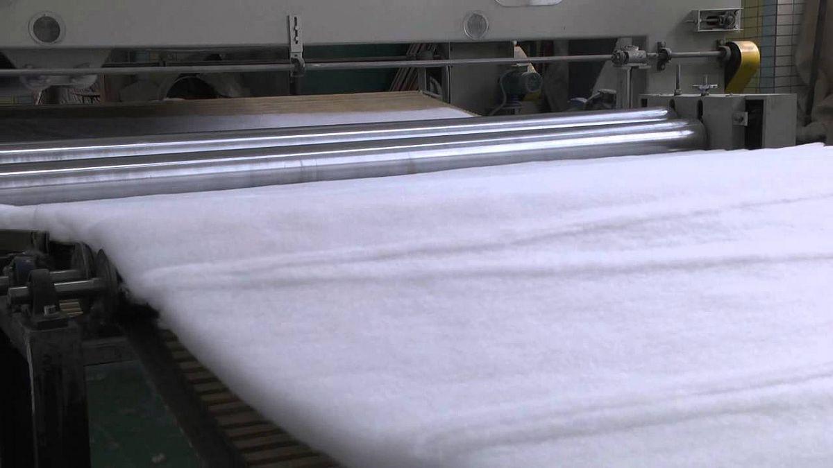 Мировое и отечественное производство и потребление нетканых материалов