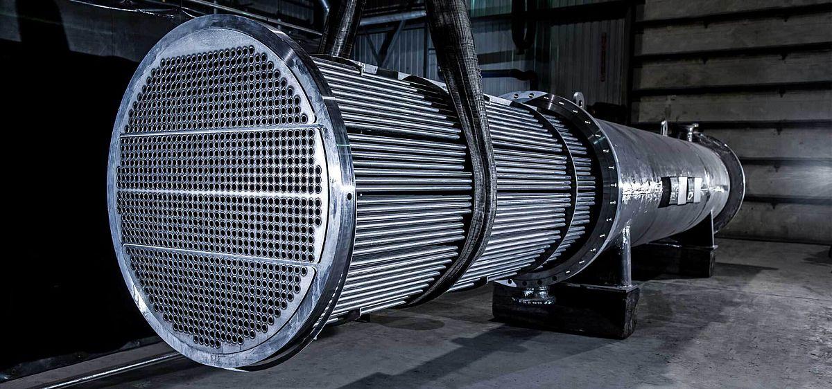 Влияние осевой теплопроводности теплопередающей стенки в однопоточном теплообменном аппарате